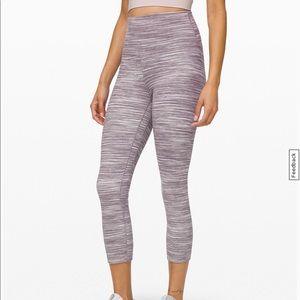"""Lululemon align crop 21"""" leggings"""